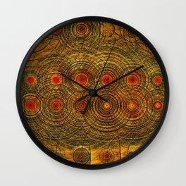 Waves of Gravity- The Pulse of the Universe Wall Clock