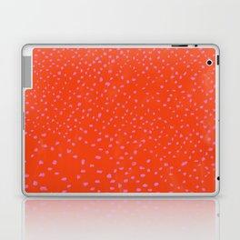 Red Pink irregular pattern carpet Laptop & iPad Skin