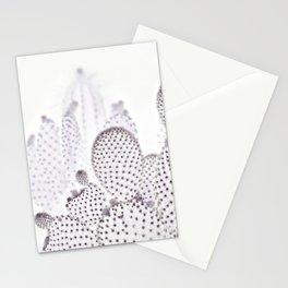 WHITE CACTUS Stationery Cards