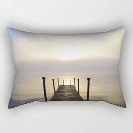 Into the Light: Sunrise, First Full Day of Fall Rectangular Pillow