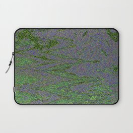 GORIAN MOSS GROWING ON FALIS THREE ON A CLOUDY DAY Laptop Sleeve