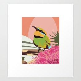 Bee Eater Art Print
