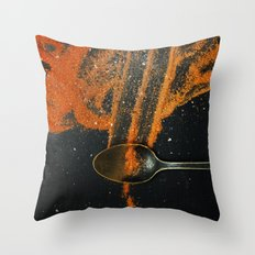Spoonful of spice Throw Pillow
