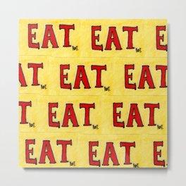 Eater Metal Print