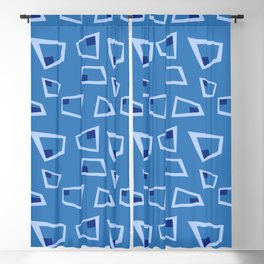 Vintage Abstract Pattern 4 Blackout Curtain