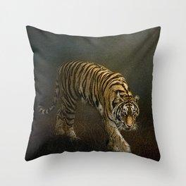 The Night Prowler Throw Pillow