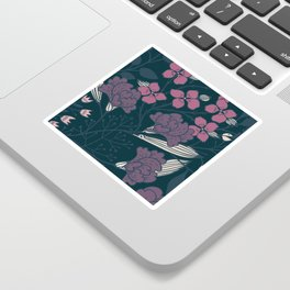 Flowers in the Shade Sticker