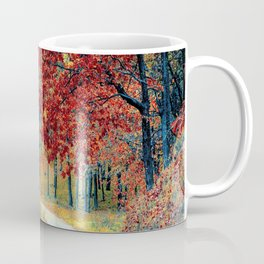 Lost in the forest Coffee Mug
