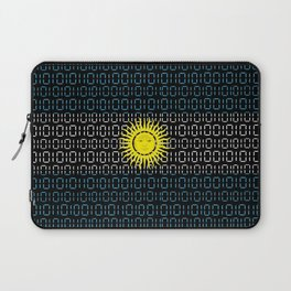 digital Flag (Argentina) Laptop Sleeve