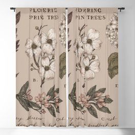 Flowering Spring Trees Blackout Curtain