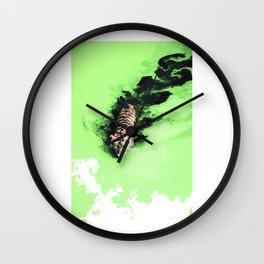 Pantheras tigris x1 Wall Clock