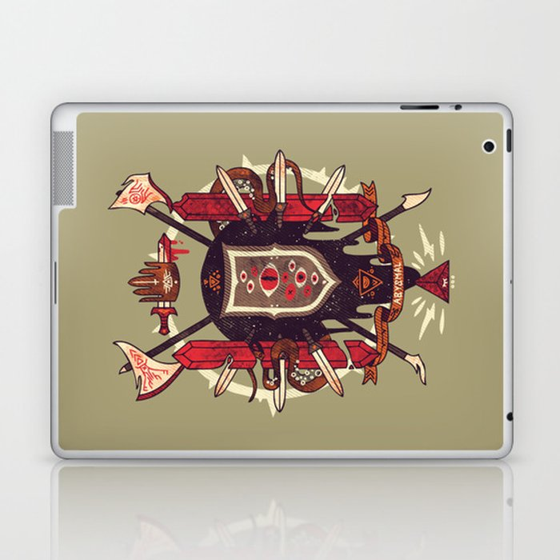 Astral Ancestry Laptop & iPad Skin