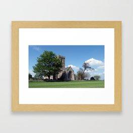 The Parish Church of St Andrew Framed Art Print