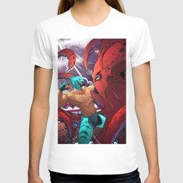 El Tiburon V El Pulpo T-shirt