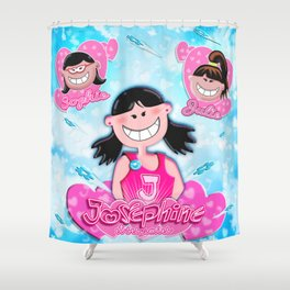 JJS Poster Shower Curtain