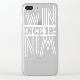 Twins-Since-1959---58th-Birthday-Gifts Clear iPhone Case