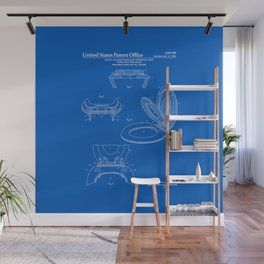 Toilet Seat and Cover Patent - Blueprint Wall Mural