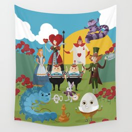 alice in wonderland collection Wall Tapestry