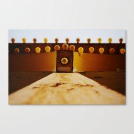 Yellow Bulbs Canvas Print