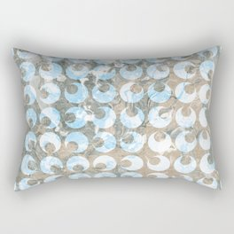 New Tendances dark marble Rectangular Pillow