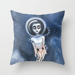 Lost out of the dream Throw Pillow