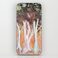 sparkles iPhone & iPod Skins featuring Sparkles by Julie Lemons