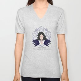 Yennefer of vengerberg Unisex V-Neck
