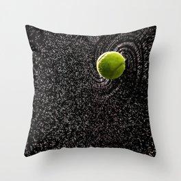 Spin Serve     Tennis Ball Throw Pillow
