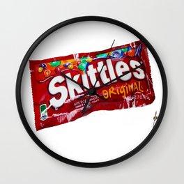 Skittles Wall Clock