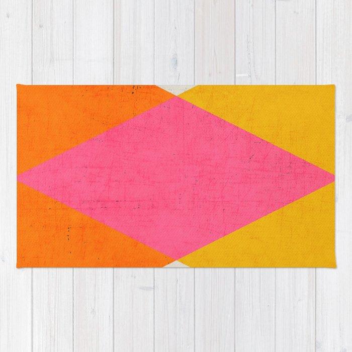 summer triangles Rug
