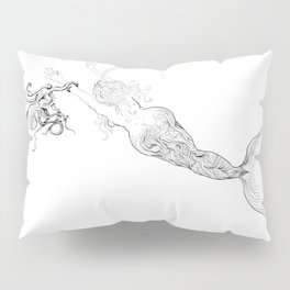 The Octopus and the Mermaid Pillow Sham