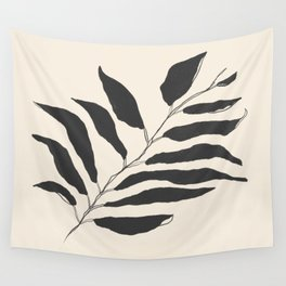 breezy palm Wall Tapestry