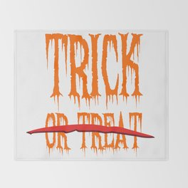 Trick, no Treat Throw Blanket