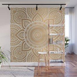 Gold Mandala 3 Wall Mural