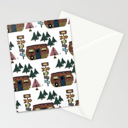 Camping we go Stationery Cards