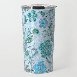 Dotty mosaic pattern Travel Mug