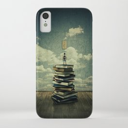 switch on your mind iPhone Case