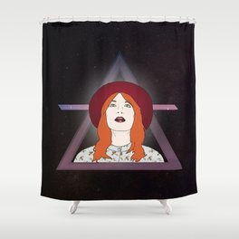 What kind of girl sings like this? Shower Curtain