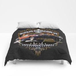 Plymouth Barracuda Road Burn - Muscle Car Comforters