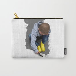 To Live with No Thought for the Future Carry-All Pouch