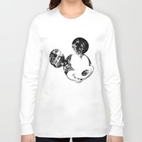 mickey Long Sleeve T-shirts featuring Mickey Grunge by Bright Enough💡