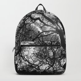 Dramatic London Tree Silhouette Backpack