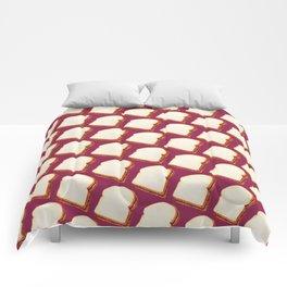 Peanut Butter & Jelly Sandwich Pattern Comforters