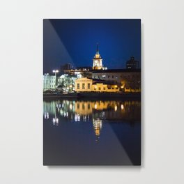 Night town Metal Print