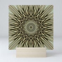 Earth-colored Sun Mini Art Print