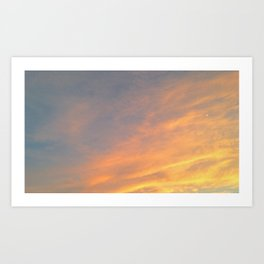 Color in the Sky  Art Print