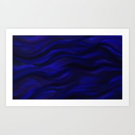 Blue Night Art Print