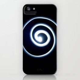 Spiral of Light - The Peace Collection iPhone Case