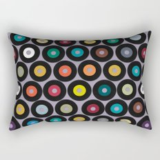 VINYL lilac Rectangular Pillow