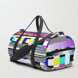 Glitch Ver.1 Duffle Bag